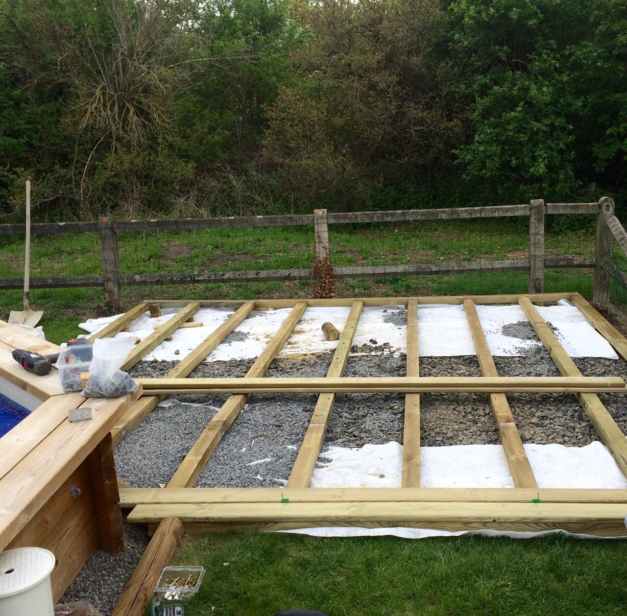 Mickael croizet paysagiste entretien et cr ation espace for Cloture piscine bois